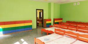 Сапальня в детском саду Россошенцы
