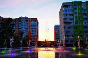Фонтан в Россошенцах по улице Перспективная